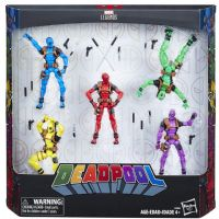 Marvel Legends: Deadpool Rainbow Squad - 5 Figure Box Set - 3.75 Inch